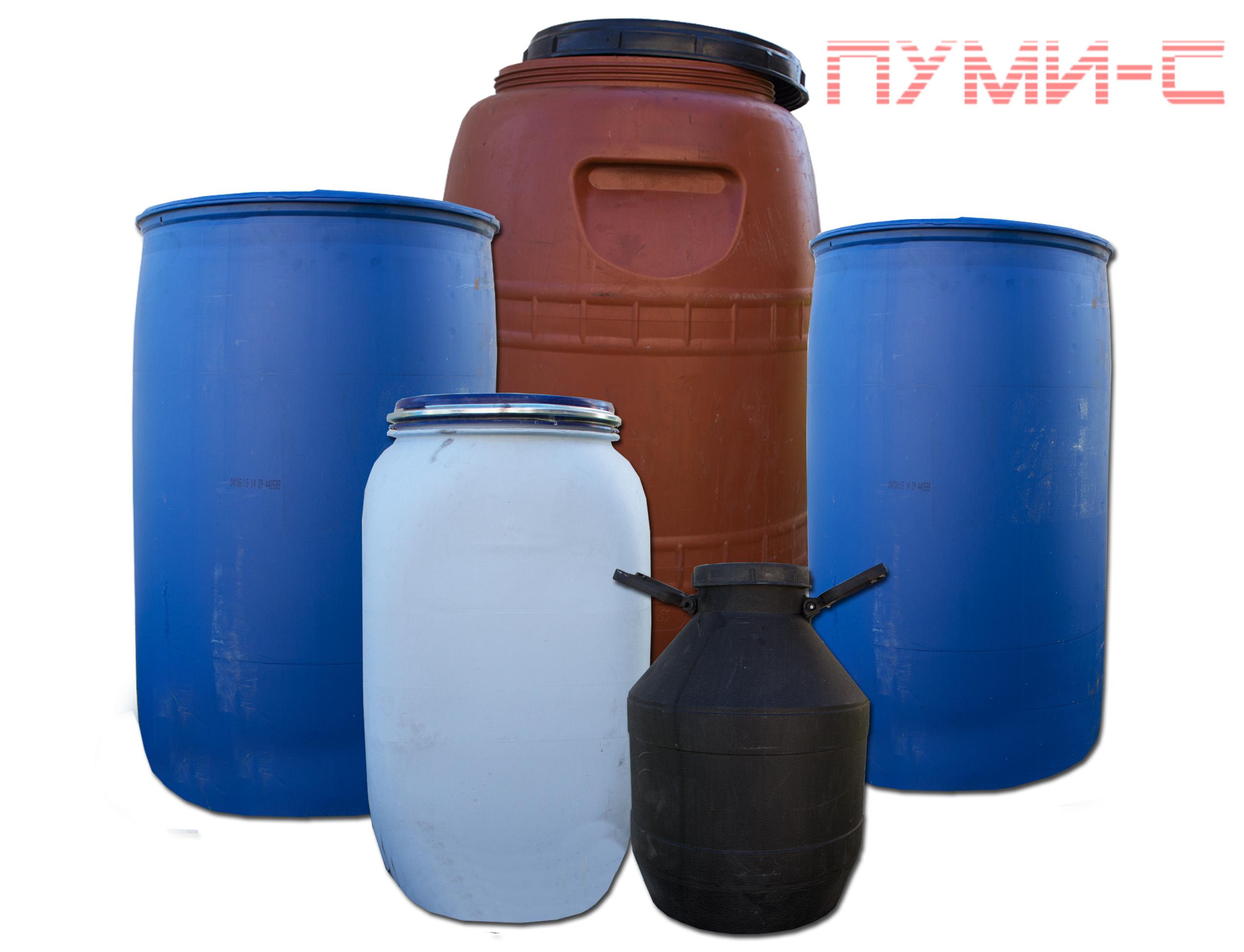 Бочки пластиковые 200 л, 60, 80, 40 л купить в Минске
