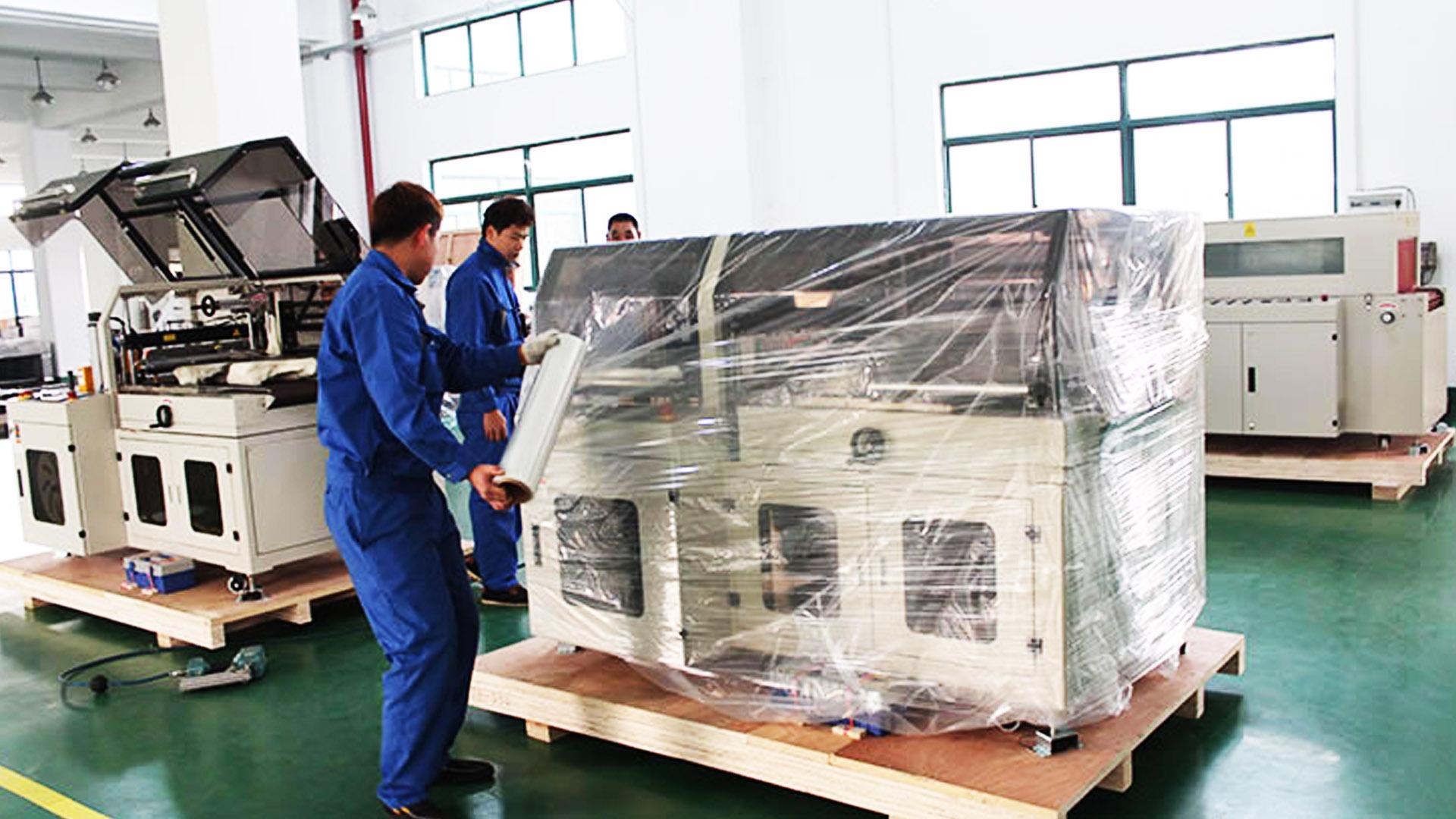 Консервация и упаковка оборудования и станоков