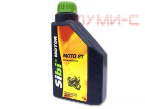 Sibi Moto 2t двухтактное масло для мотоциклов, скутеров, мотороллеров, мопедов цена в Минске