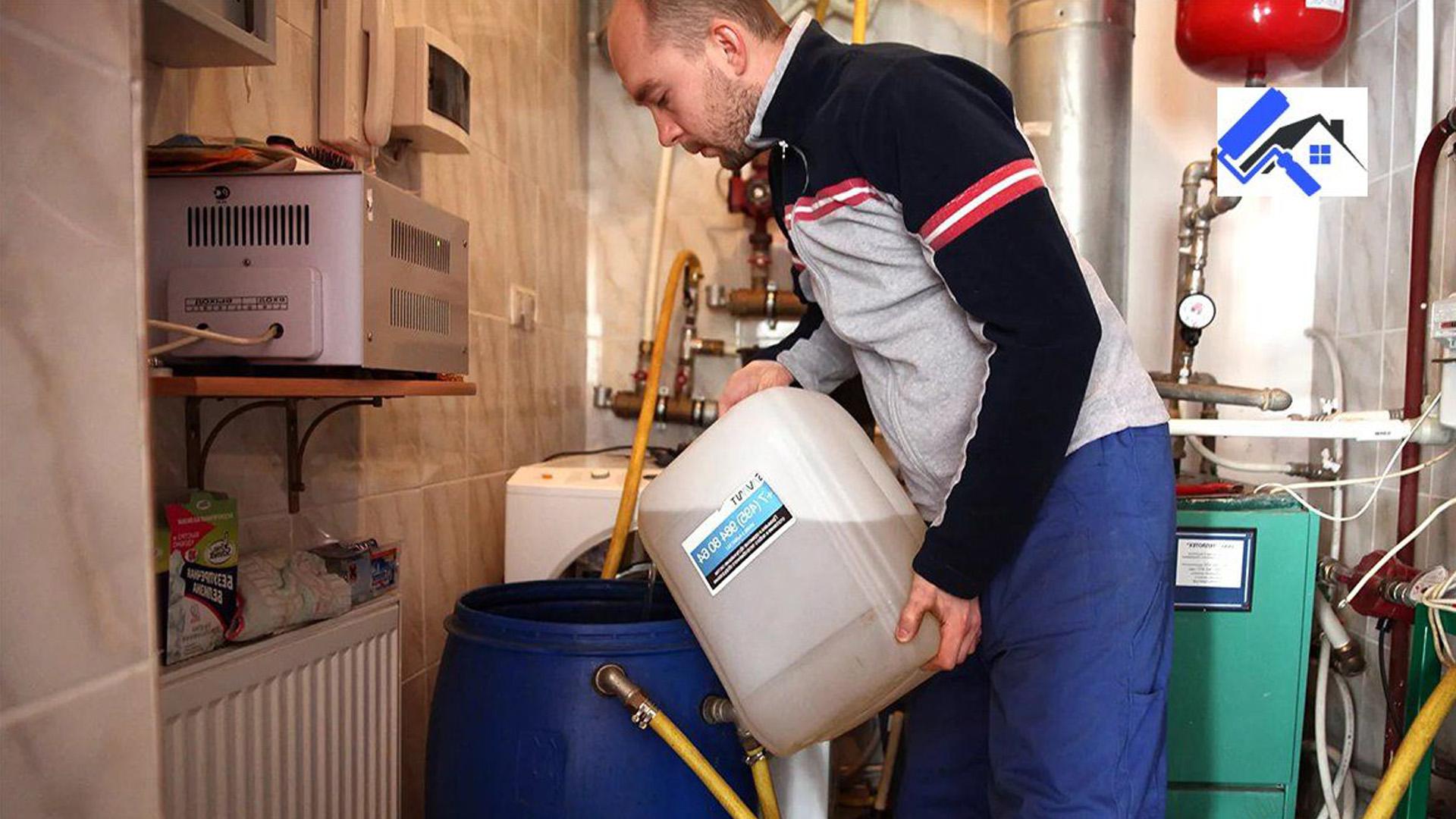 Масла теплоносители для с системы обогрева дома