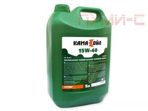 Кама Ойл 15W-40 минеральное моторное масло