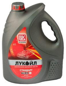 Лукойл Стандарт 15W-40 SF/CC в Минске