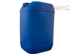 Пластиковая канистра бу синего цвета