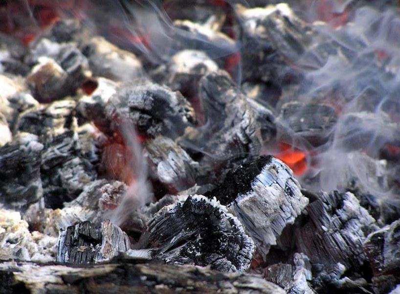 Уголь березовый для мангала в Минске