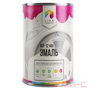 Эмаль мл12-к для авто лидская ral разных цветов