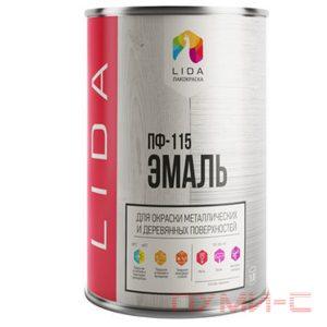 ПФ 115 LIDA эмаль краска