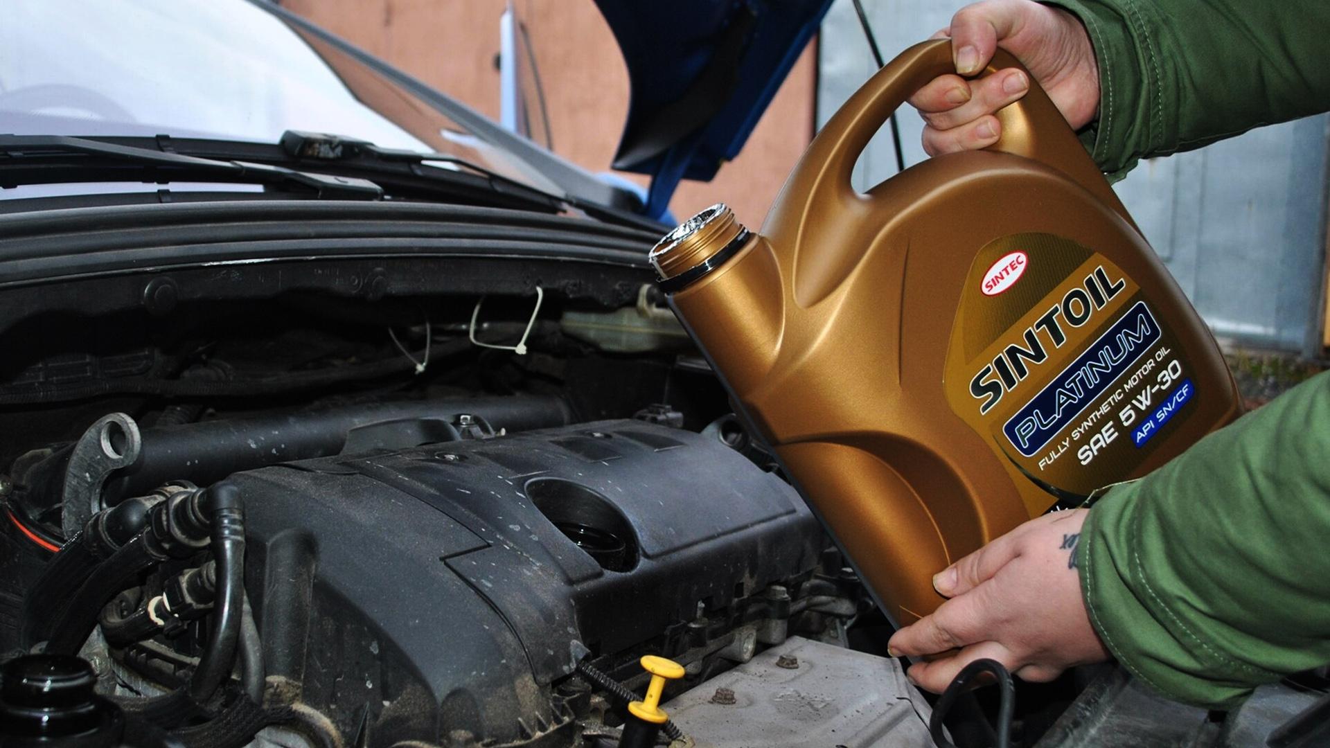 Моторное масло для двигателей авто Sintec Sintoil