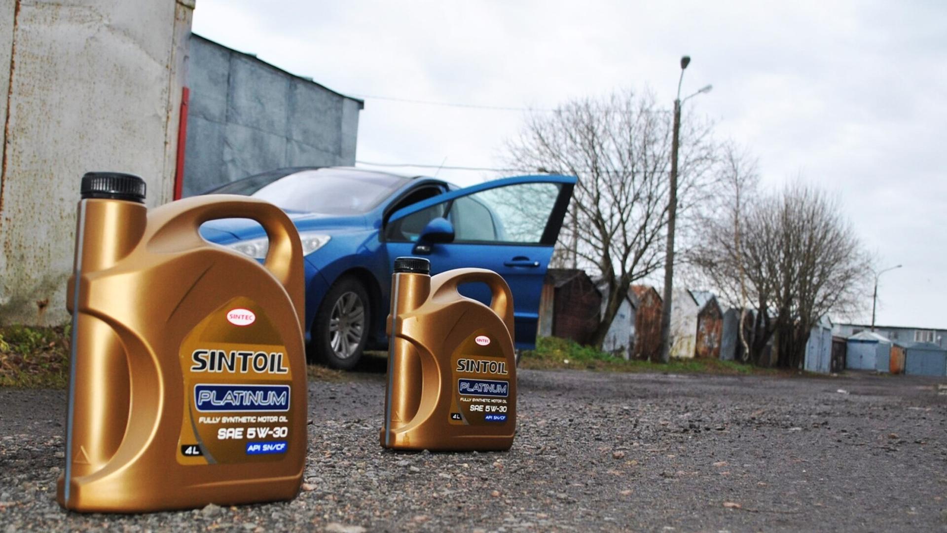 Автомобильное масло Синтоил Sintec в Минске