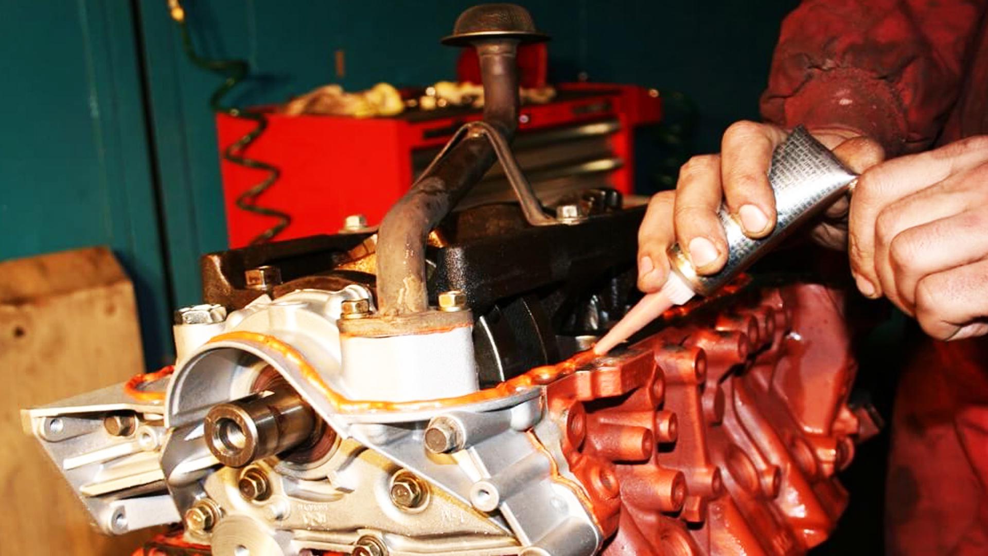 Автогерметик для двигателя (ДВС)