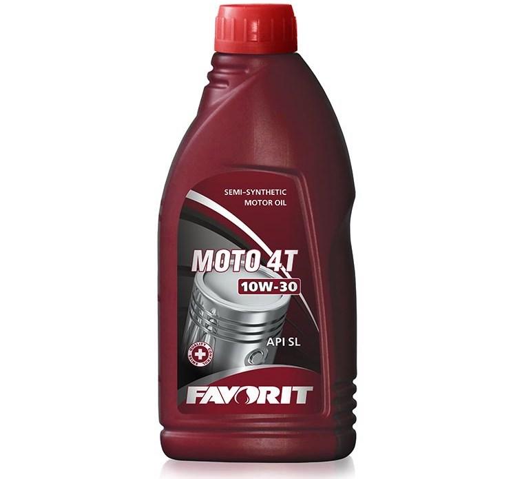 Моторное масло Favorit Moto 10w-30