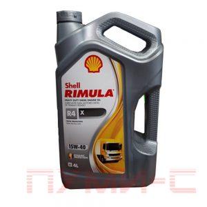 shell rimula x 15w 40 масло для дизелей